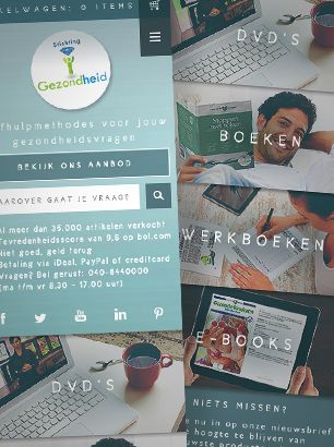 De nieuwe website van Stichting Gezondheid