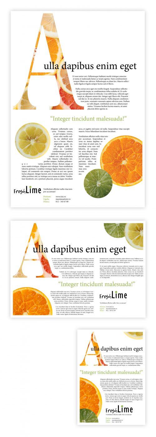 Magazine-layout template 1