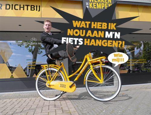 Werken in de Kempen winactie fiets